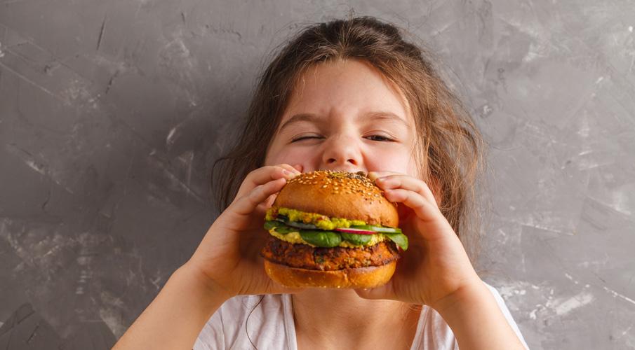 Gör din egen hamburgare