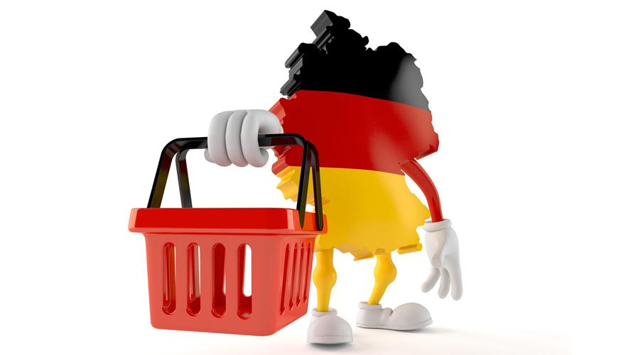 Shoppa i Tyskland